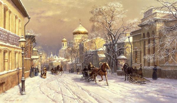 Художник Михаил Сатаров